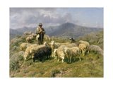 Shepherd of the Pyrenees  1888