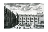 Palace of Falkland  from 'Theatrum Scotiae' by John Slezer  Published 1693