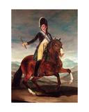 Equestrian Portrit of Ferdinand Vii  1808
