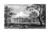 Gosfield Hall  Essex  Engraved by Robert Sands  1832