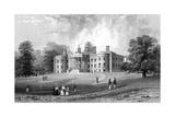 Felix Hall  Essex  Engraved by Henry Adlard  1833