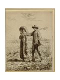 Going to Work  1863