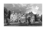 West Front of Spains Hall  Essex  Engraved by John Rogers  1832