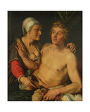 The Young Man and the Old Woman  1614