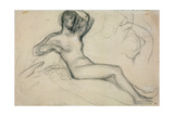 Seated Female Nude  1881