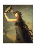 Lady Hamilton as a Bacchante  C1790