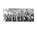 The Triumph of Riches  Drawn by Jan De Bisschop  C1650