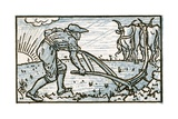 The Ploughman  Song Illustration for 'Who Liveth So Merry in All This Land'  from 'Pan-Pipes'  a…
