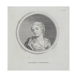 Signora Faustina  from 'A General Dictionary of the Science and Practice of Music' by Sir John…