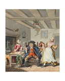 The Farmer's Return  Illustration from 'Hogarth Restored: the Whole Works of the Celebrated…
