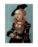 Portrait of Sibylle Von Cleve  Electress of Saxony  1535