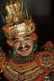 A Wayang Orang Actor  Bali  Indonesia