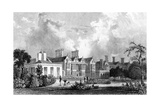 Easton Lodge  Near Dunmow  Essex  Engraved by Henry Adland  1832
