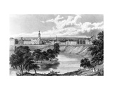 Salford from the Crescent  from 'Great Britain Illustrated'  Engraved by Edward Francis  1830