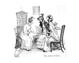 The Spiteful Old Ladies'  Illustration from 'Pride and Prejudice' by Jane Austen  Edition…