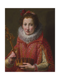 Portrait of a Lady  Traditionally Identified as Marie De' Medici  1600-03