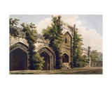 A View of a Mosque  at Rajemahel  1785-88