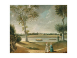 The Misses Garrick by the Thames at Hampton  1762