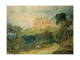 View of Belvoir Castle  1816