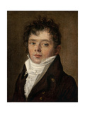 Presumed Portrait of the Chansonnier Desaugier  1808