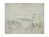 Courtroom Scene in Eastern Cape Province  1849