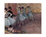 Blue Dancers  C1882