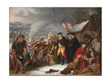 George Washington at Valley Forge  Preliminary Sketch  1854