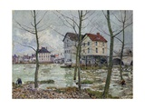 The Mills of Moret - Winter  1890
