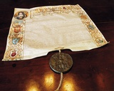 The Letters Patent from Queen Anne Granting Dukedom to the Family in 1703