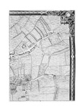 A Map of Mile End and Stepney Green  London  1746