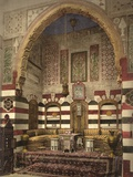 Interior of a Reception Room in a Fine House  Damascus  C1880-1900