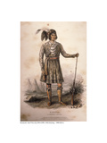 Seminole Chief Osceola  1842
