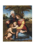 The Madonna and Child in a Landscape with Saint Elizabeth and the Infant Saint John the Baptist …