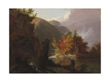 View in Kaaterskill Clove  1826