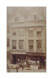 View of Goodwin's Coffee House  Aldersgate Street  C1880
