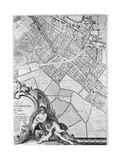 A Map of Camberwell  London  1746