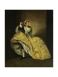 David Garrick as John Brute in the 'Provok'D Wife' by Vanbrugh  Drury Lane  1763