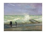 Stormy Day  Brighton  Late 19th or Early 20th Century
