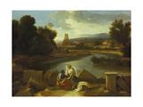 Landscape with St Matthew  1640
