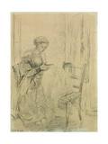 The Seamstress  1865