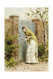 Girl at a Gate
