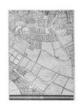 A Map of Bermondsey  London  1746