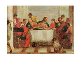 Detail of the Feast in the House of Levi  1573 (Detail)