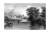 Braxted Lodge  Near Witham  Essex  Engraved by Henry Wallis  1832