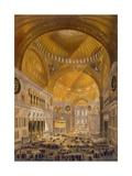 Hagia Sophia  Constantinople  1852
