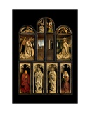 Exterior of Left and Right Panels of the Ghent Altarpiece  1432