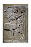 Byzantine Relief Greece Marble with Mythological Representation Xi-Xii Century