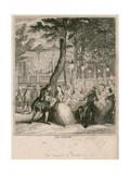 The Supper at Vauxhall Gardens  London