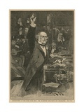 Introduction of the Home Rule Bill - Mr Gladstone Delivering His Peroration