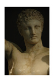 Greek Art Hermes and Dionysus Child Sculpture by Praxiteles Greece